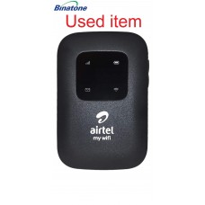 Used item Airtel 4G LTE Hotspot BMF422 Portable WiFi Router 2700MaH Battery