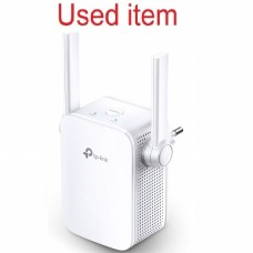 Used item TP-Link TL-WA855RE N300 Universal Wireless Range Extender, Broadband/WiFi Extender, Wi-Fi Booster/Hotspot with 1 Ethernet Port and 2 External Antennas, Plug and Play, Built-in Access Point Mode