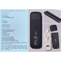 Unlocked ZTE MF825a - 4G LTE Datacard STC Logo Dongle